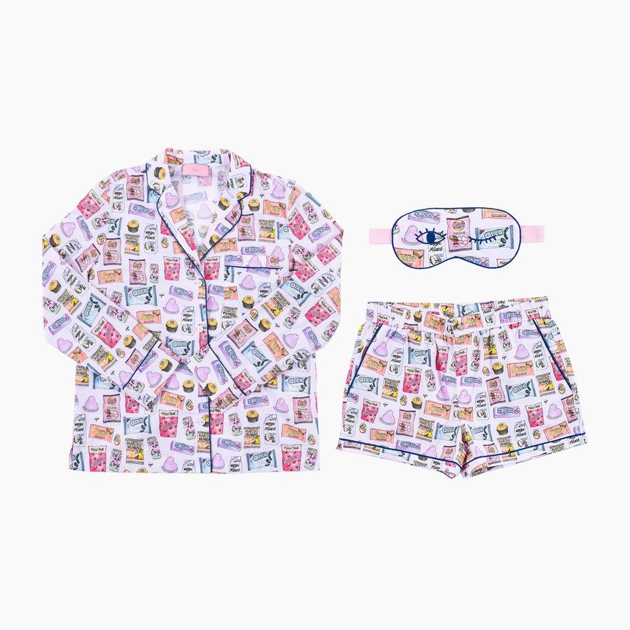 Candy Crush Pajama Set by CJW