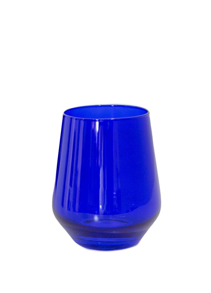 Estelle Colored Stemless Wine Glass