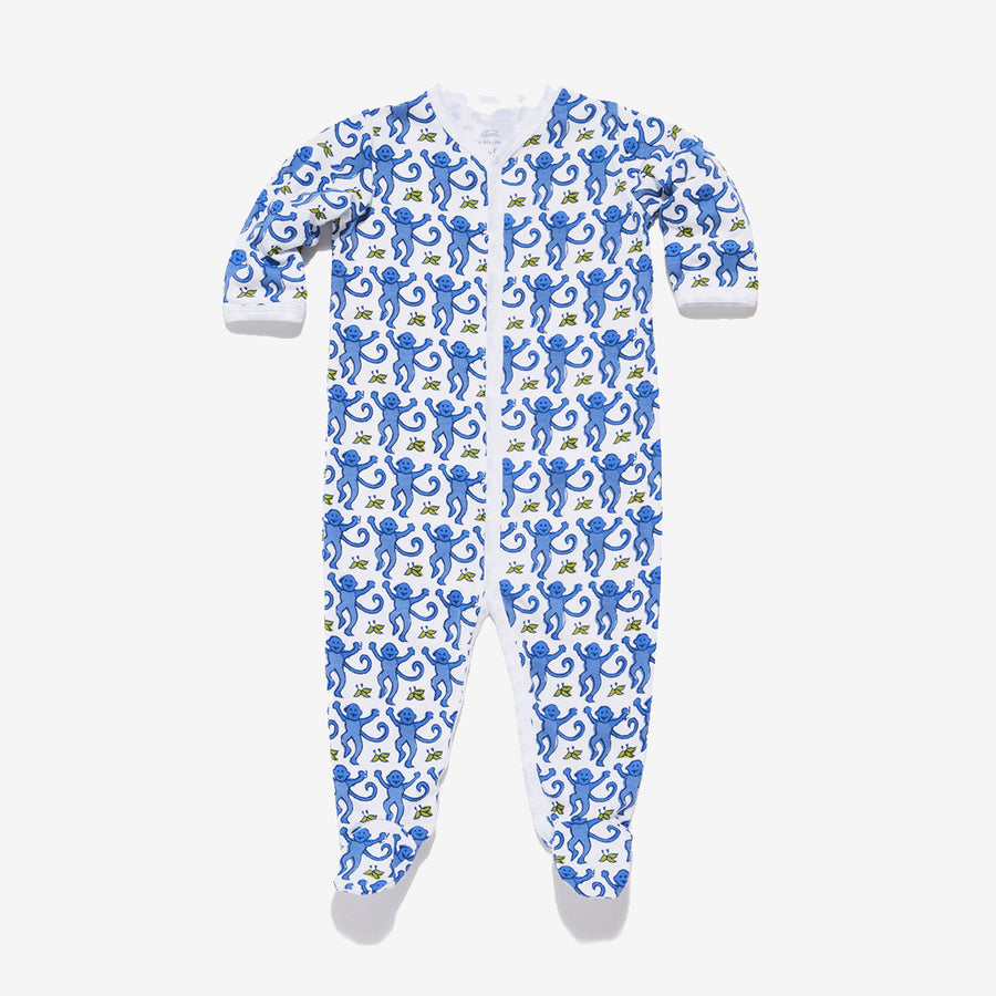 Roller Rabbit Infant Monkey Pajama Set