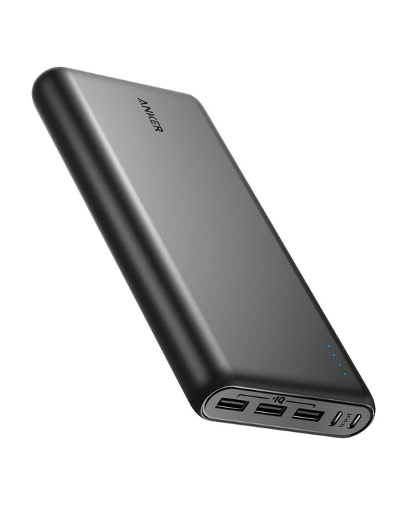 Anker PowerCore 26800 Portable Charger, 26800mAh External Battery with Dual Input Port and Double-Speed Recharging, 3 USB Ports for iPhone, iPad, Samsung Galaxy, Android and Other Smart Devices - Graphene Theory