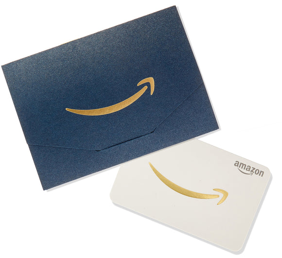 Amazon.com Gift Card in a Mini Envelope (Navy and Gold) - Graphene Theory