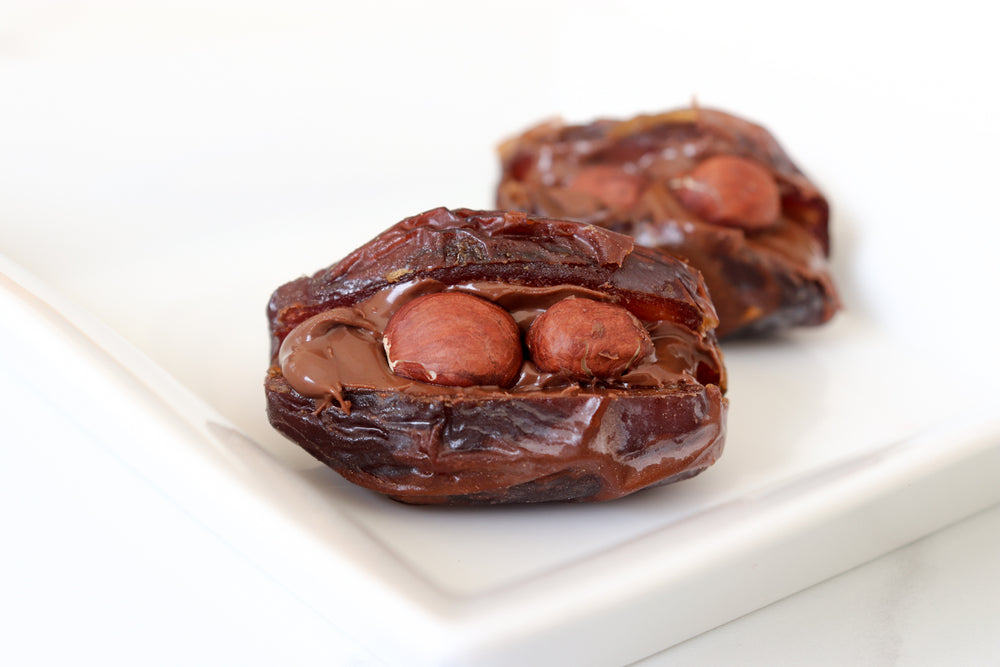 Load image into Gallery viewer, Naked Nutella+Hazelnuts Palm Bites (Not Vegan) - Palm Bites®