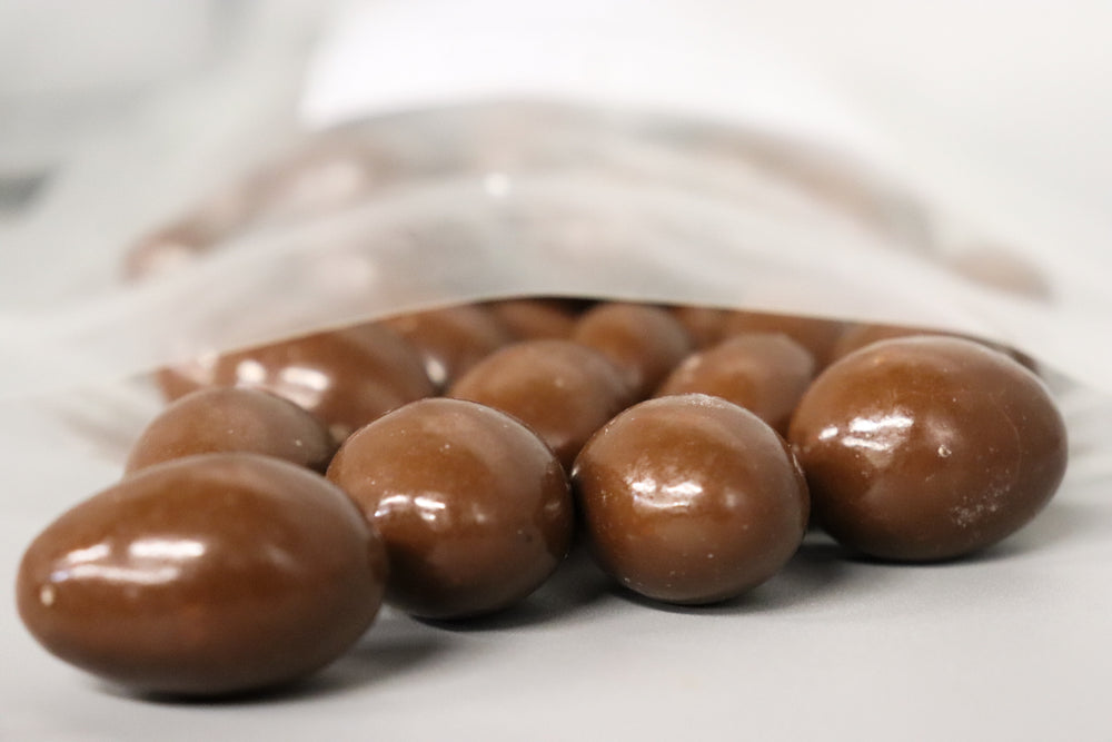 Milk Chocolate Covered Almonds - Palm Bites®