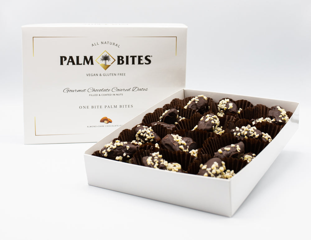 One Bite | Almond Palm Bites - Palm Bites®