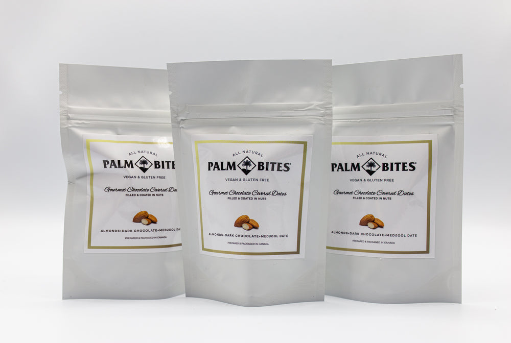 Sample Size One Bite | Almond Palm Bites - Palm Bites®