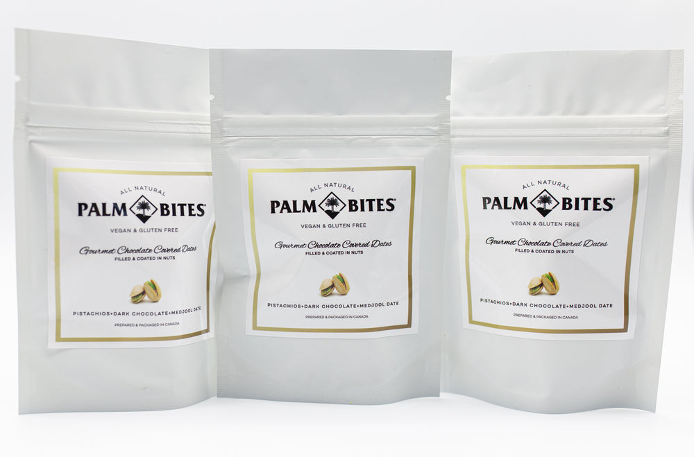 Sample Size Two Bite | Pistachio Palm Bites - Palm Bites®