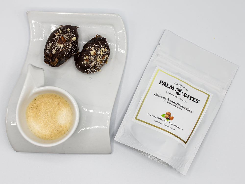 Sample Size Two Bite | Hazelnut Palm Bites - Palm Bites®