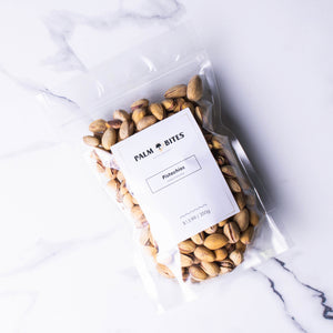 Pistachios - Salted & Roasted - Palm Bites®