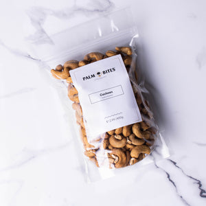 Cashews - Salted & Roasted - Palm Bites®