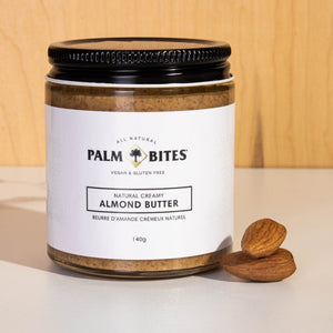 Load image into Gallery viewer, Palm Bites Almond Butter Jar - Palm Bites®