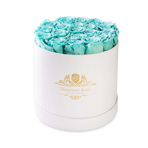 Tiffany Blue Roses by Diamond Rose® - Palm Bites®