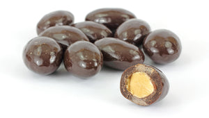 Dark Chocolate Covered Almonds - Palm Bites®