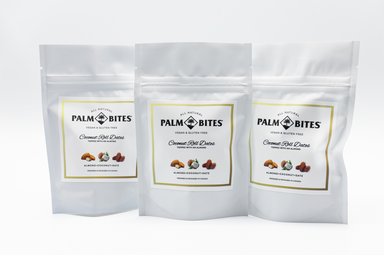 Sample Size Coconut Roll Dates - Palm Bites®