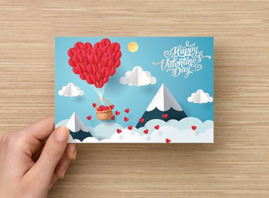 Happy Valentines Day Card - Palm Bites®