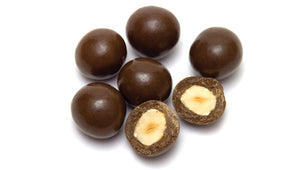Dark Chocolate Covered Hazelnuts - Palm Bites®
