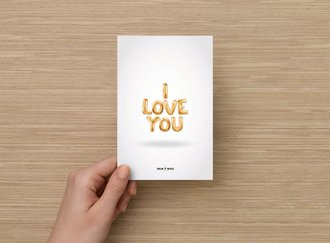 I Love You Card - Palm Bites®