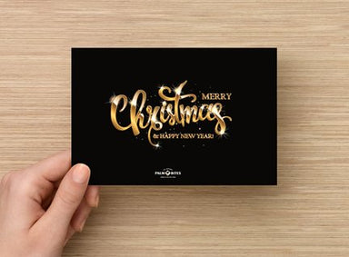 Merry Christmas Card - Palm Bites®
