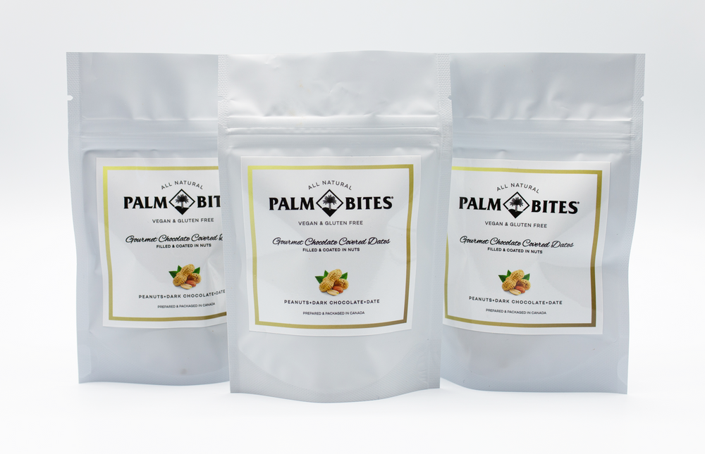 Sample Size One Bite | Peanut Palm Bites - Palm Bites®