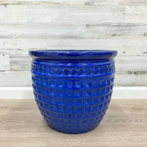Archipelago Planter - Blue - 15-inches