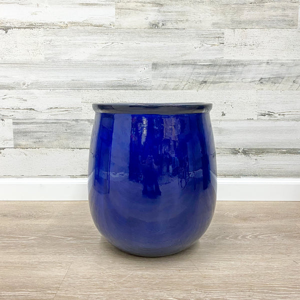 Balloon Planter - Blue - 13-inches
