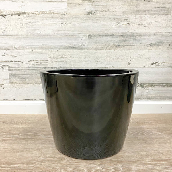 Distant Planter - Black - 16-inches
