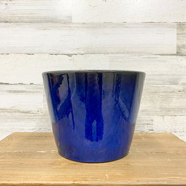 Distant Planter - Blue - 9.5-inches
