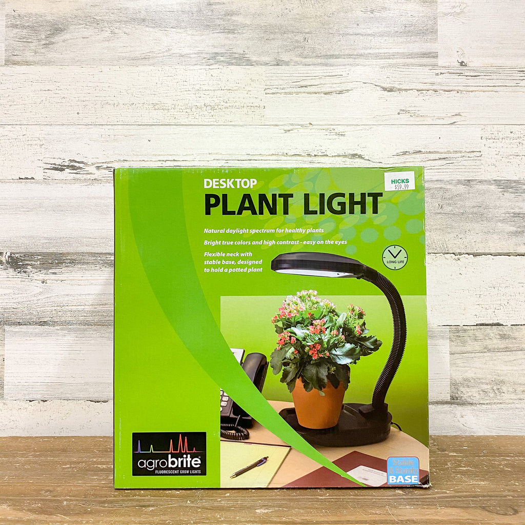 Hydrofarm - Desktop Plant Light with 27-Watt CFL Bulb