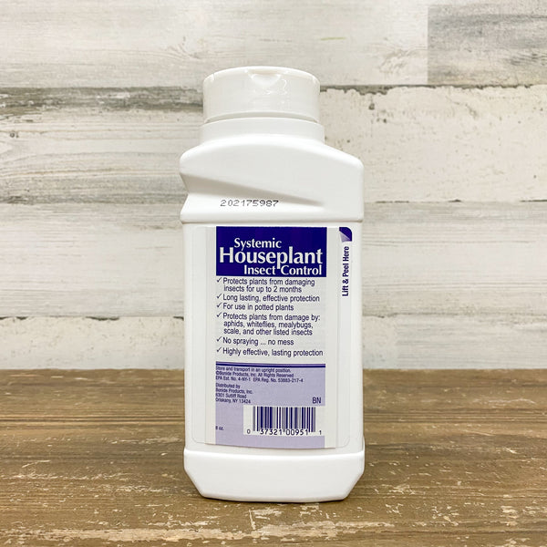 Bonide - Systemic Houseplant Insect Control Granules - 8oz.