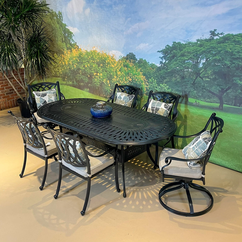 Toscana Oval Dining Set - 7pc