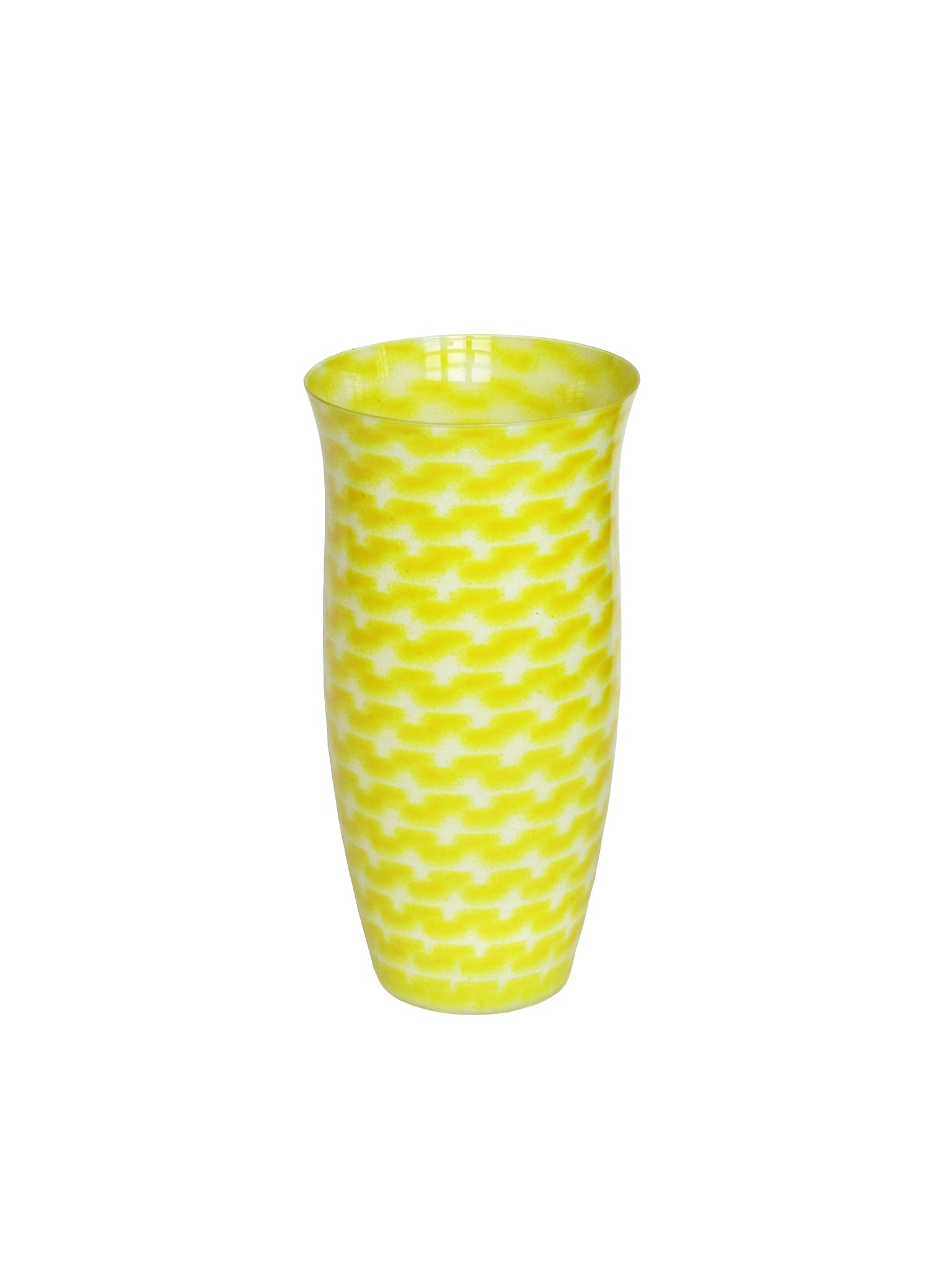 Yellow Resonance Flower Vase Medium