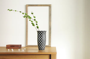 B&W Resonance Flower Vase Medium