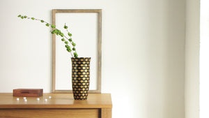 Gold Resonance Flower Vase XL
