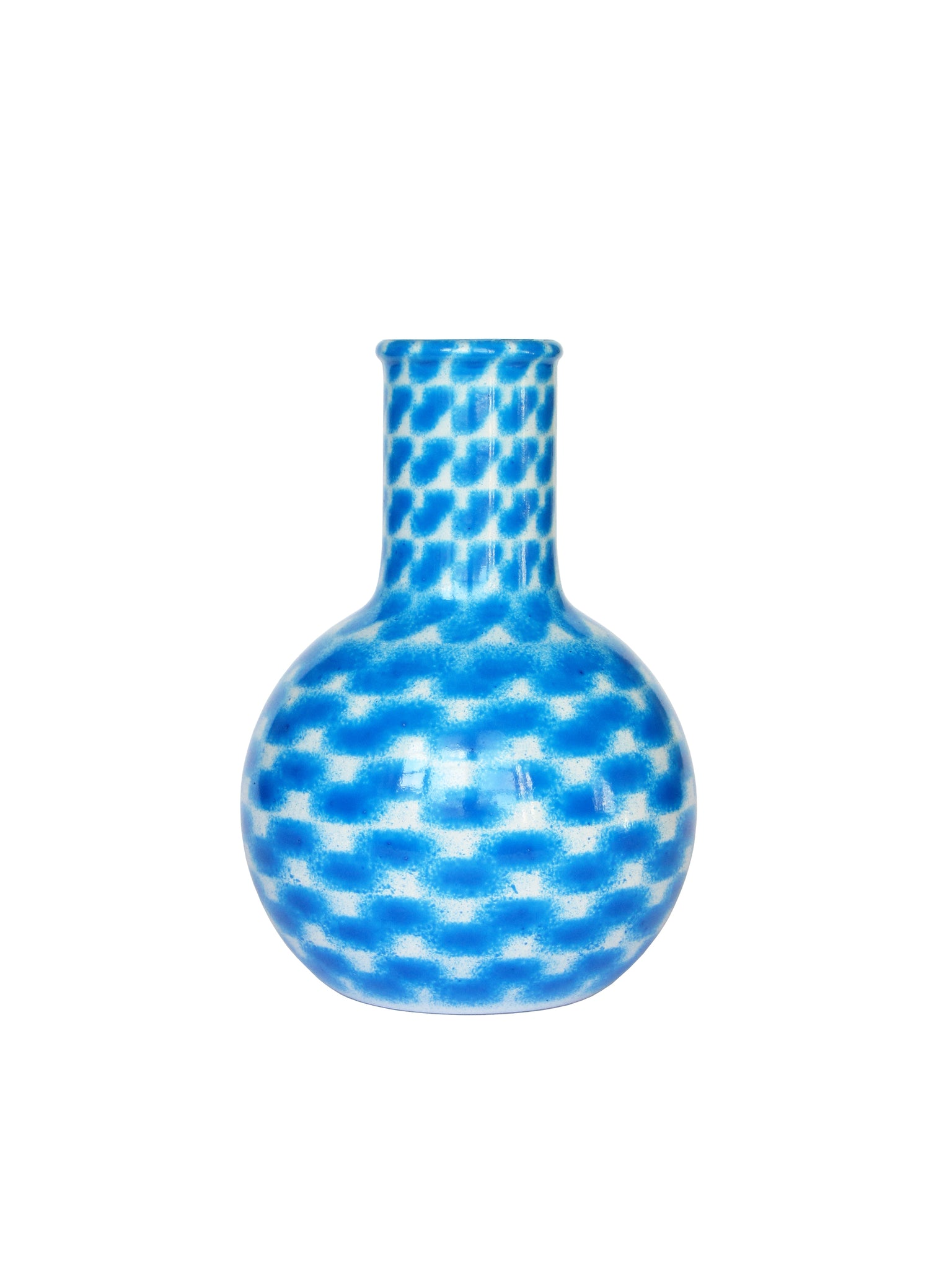 Middle Blue River Balloon Flask Medium