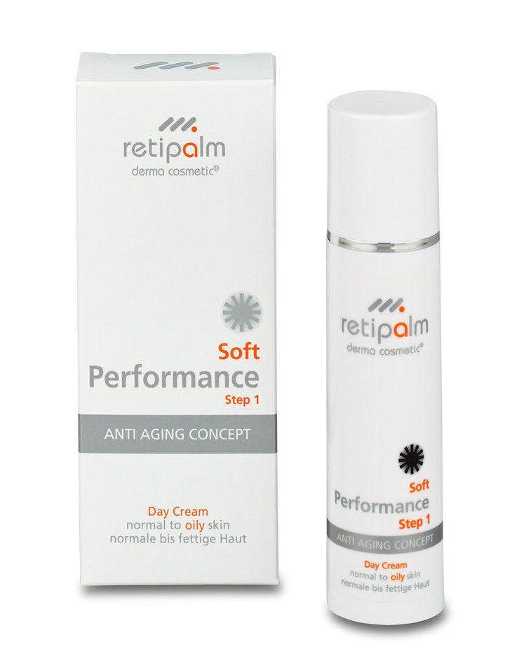 "retipalm Day Cream Soft Performance oily skin ""Step 1"""