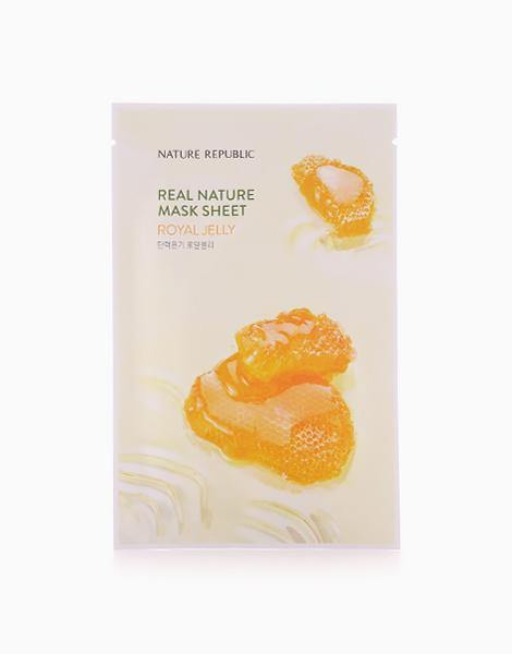 Nature Republic - Real Nature Sheet Mask Royal Jelly
