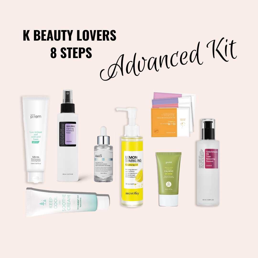 K Beauty Lover's Advanced Kit