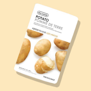 The face shop Real Nature Potato Face Mask - Flawlesscoatboutique