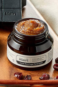 Dear, Klairs Gentle Black Sugar Facial Polish - Flawlesscoatboutique