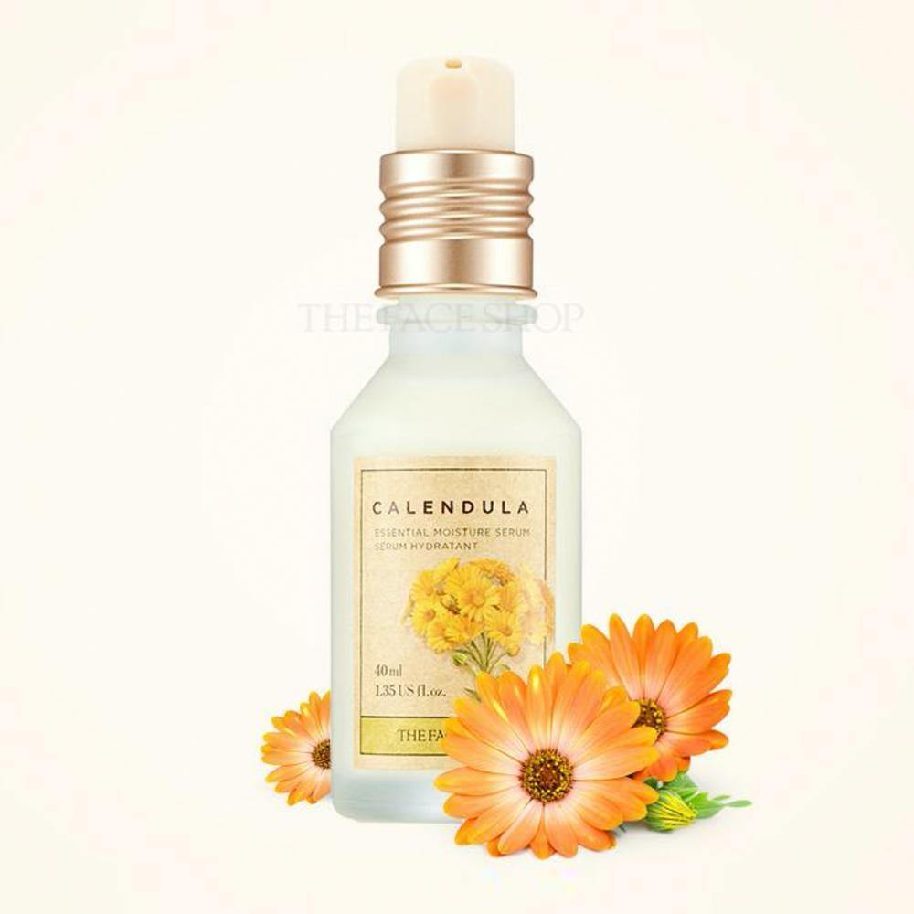 The face shop Calendula Essential Moisture Serum - Flawlesscoatboutique