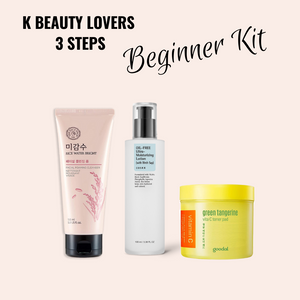 K Beauty Lover's Beginner Kit