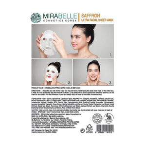 Mirabelle - Sandalwood Ultra Facial sheet Mask