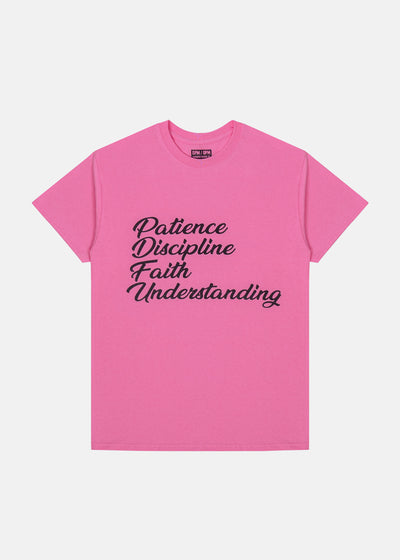 Patience Tee (Pink)