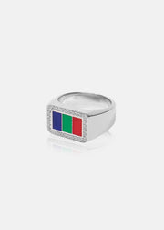 OPM Company Ring (White Gold)