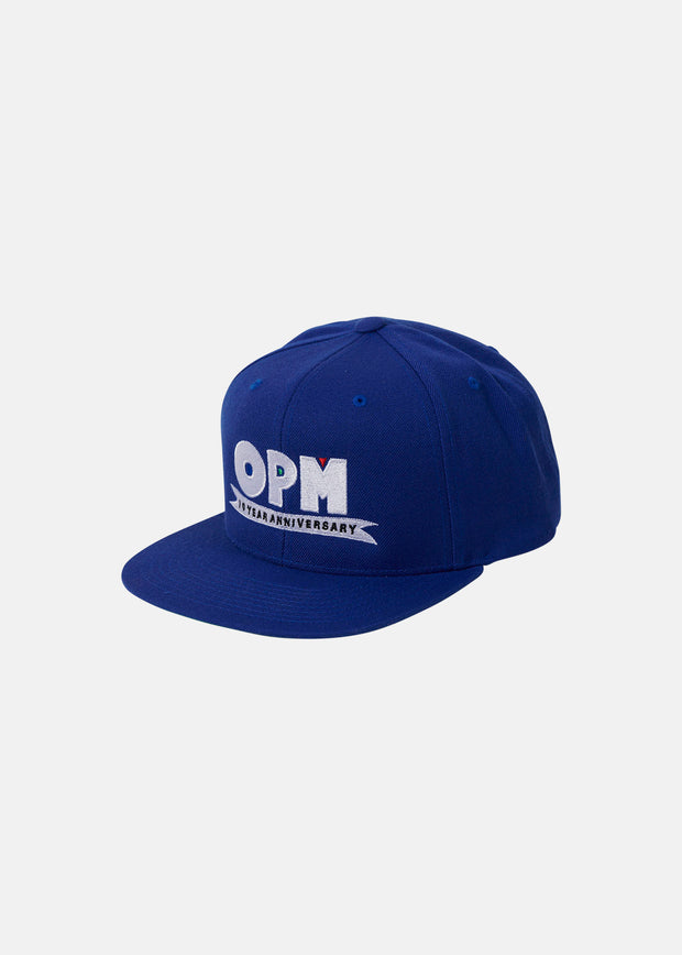 OPM ANNIVERSARY SNAP HAT (BLUE)