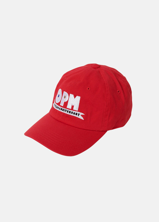 OPM ANNIVERSARY DAD HAT (RED)