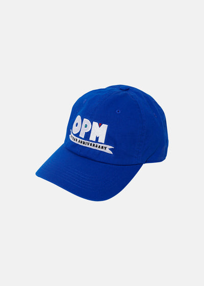 OPM ANNIVERSARY DAD HAT (BLUE)