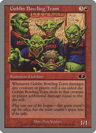 Goblin Bowling Team [Unglued] | Boutique FDB TCG