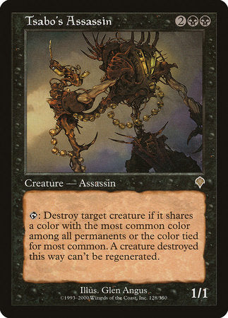 Tsabo's Assassin [Invasion] | Boutique FDB TCG