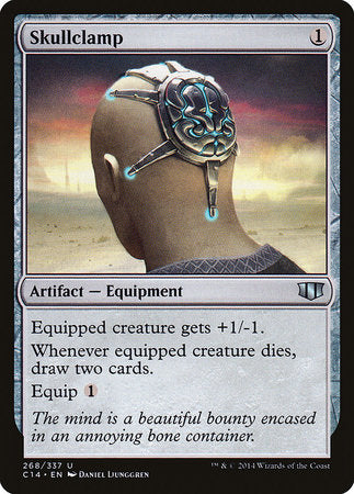 Skullclamp [Commander 2014] | Boutique FDB TCG
