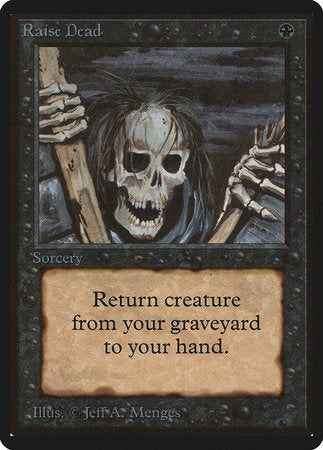 Raise Dead [Limited Edition Beta] | Boutique FDB TCG